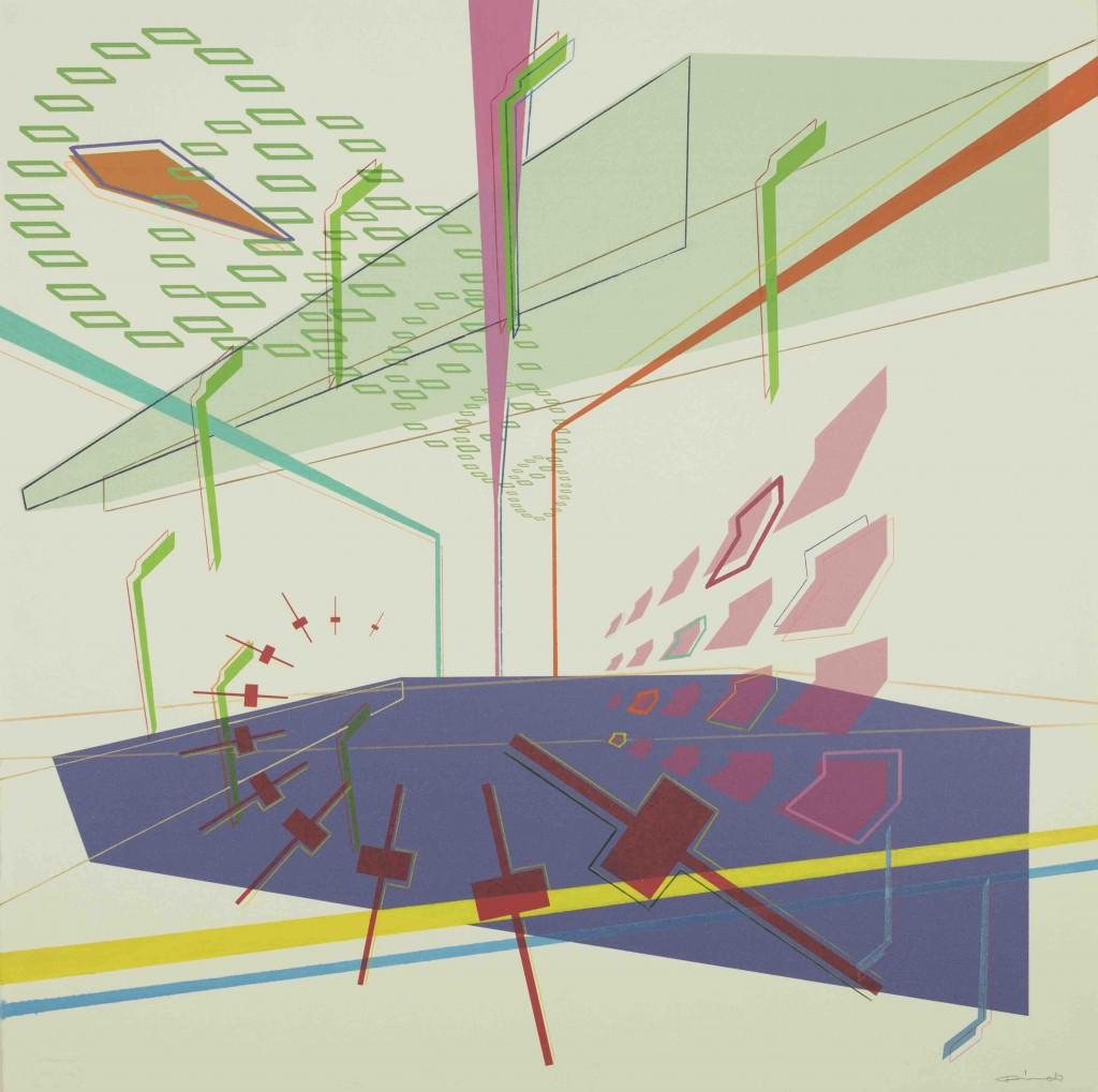 Imagen de la obra 'Arpegio 003', de Ricardo Escavy. Fotografía cortesía de Shiras Galería.