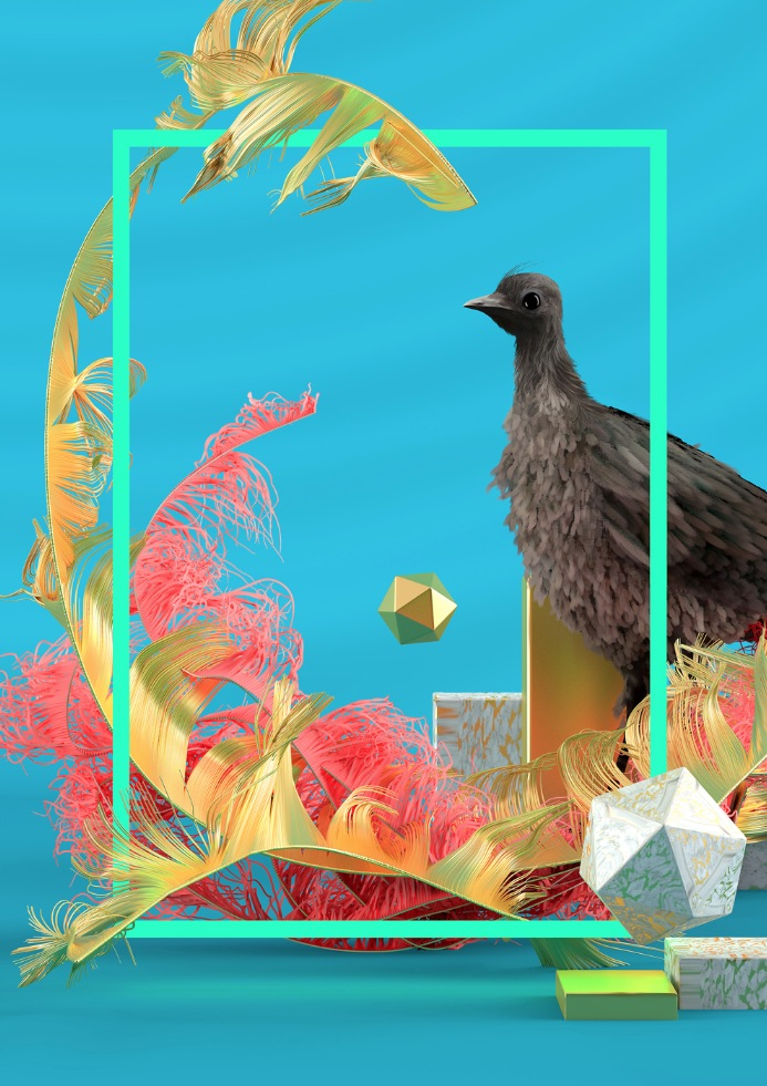 Obra de Fito Conesa. Imagen cortesía de Espai Tactel.