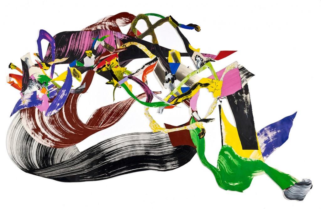 Obra de Juan Olivares, segundo premio de la I Bienal Mª Isabel Comenge. Imagen cortesía de La Nau.