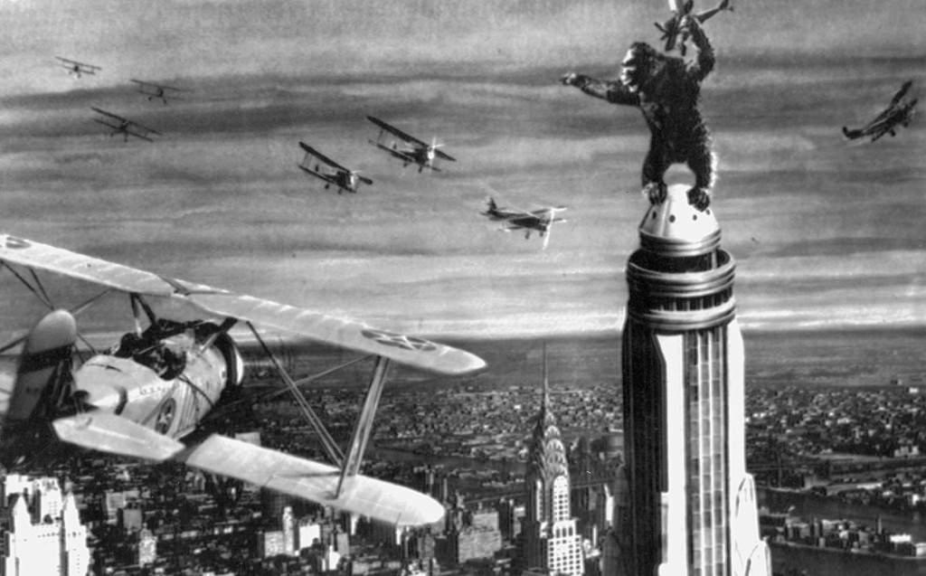 Fotograma de King Kong. Imagen cortesía de la Filmoteca de València