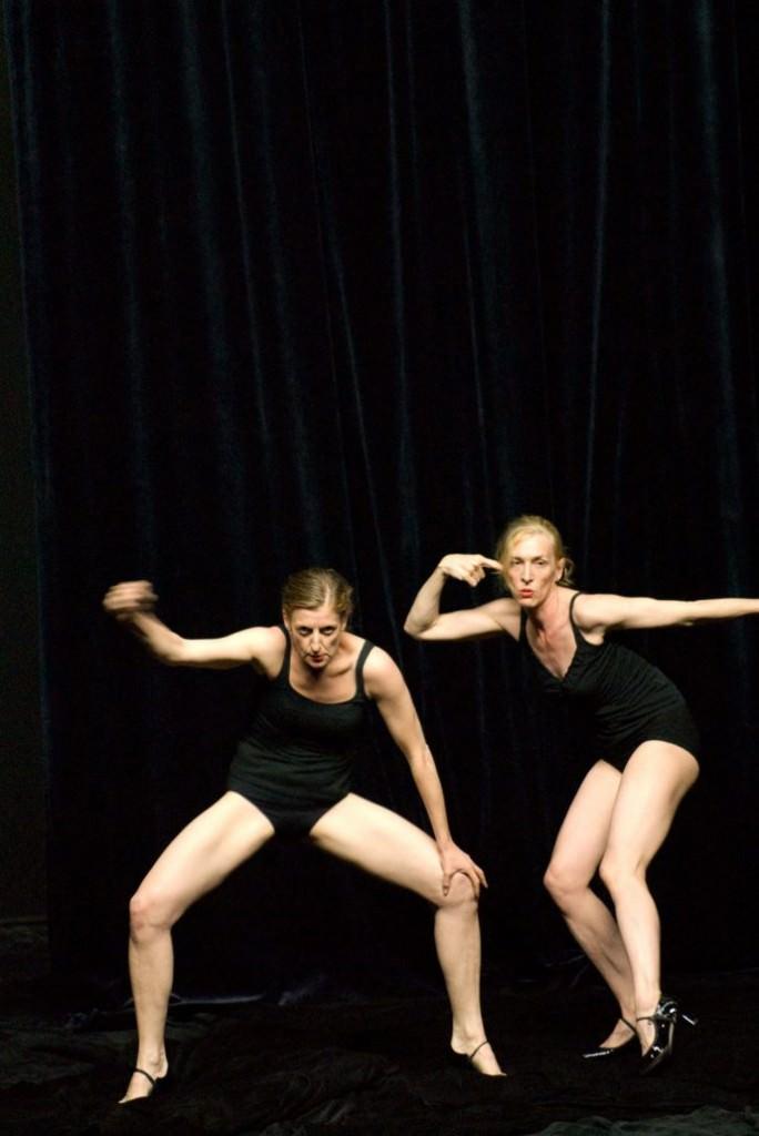La Ribot y Mathilde Monnier. Imagen cortesía de La Mutant.