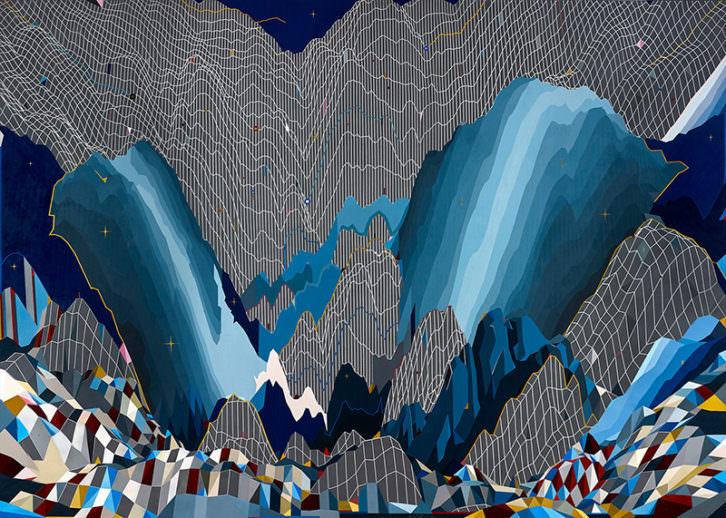 Obra de Nelo Vinuesa, ganador de la I Bienal Mª Isabel Comenge. Imagen cortesía de La Nau.