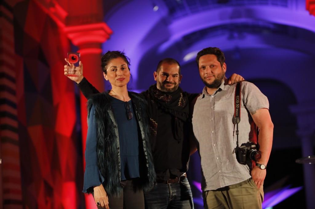David Segarra ha recibido el Premio Fragments 2018 a mejor cortometraje valenciano con 'Savis de l'horta'. Fotografía cortesía de DocsValència.