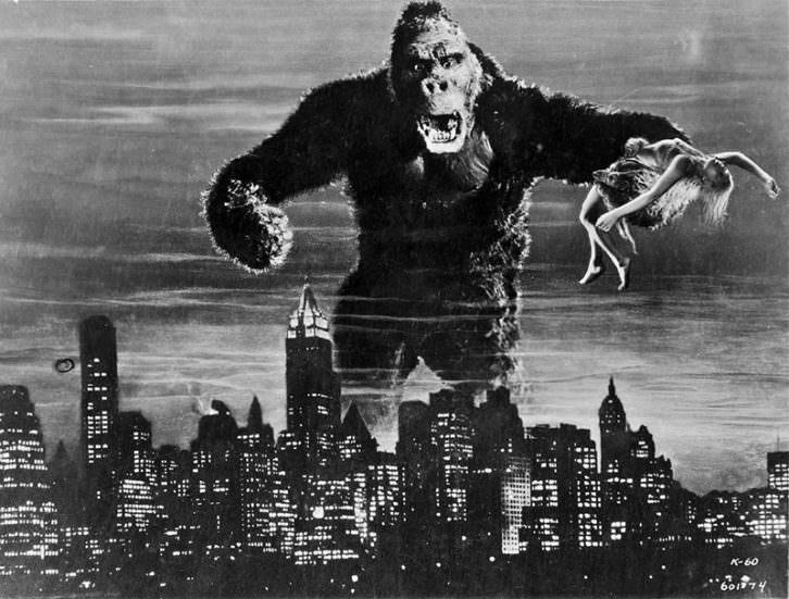 Fotograma de King Kong. Imagen cortesía de la Filmoteca de València.