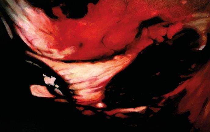 Detalle de una de las obras de María José Marco. Imagen cortesía de la autora.