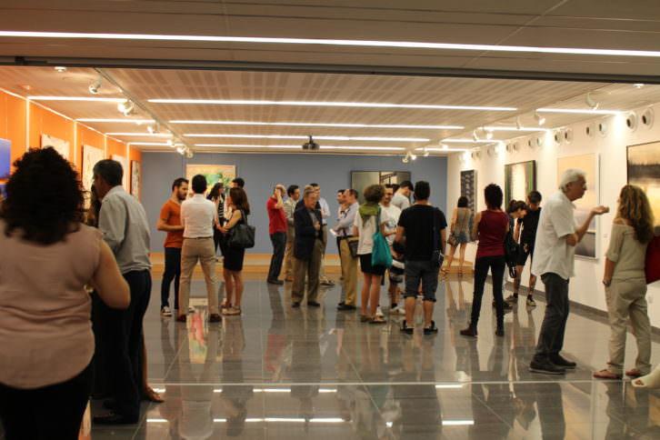 Inauguración XIX Premio Nacional de Pintura. Cortesía de Jorge Sebastián Lozano