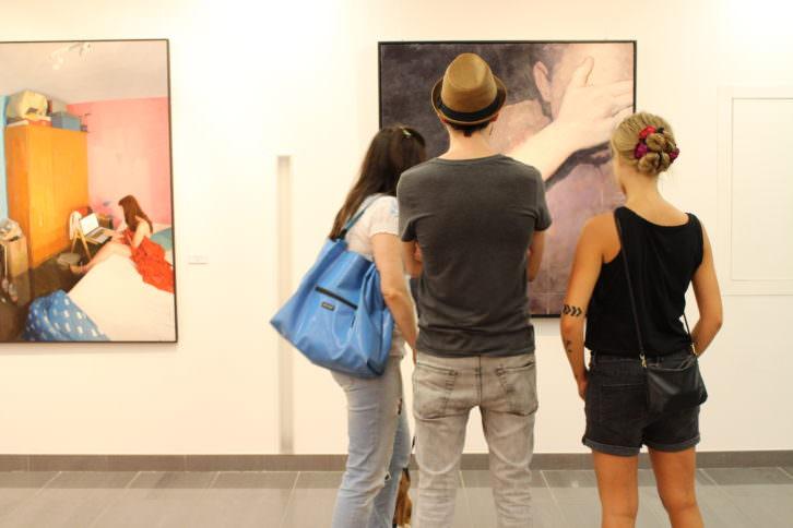 Exposicion XVIII Premio Nacional de Pintura. Cortesia de Jorge Sebastián Lozano
