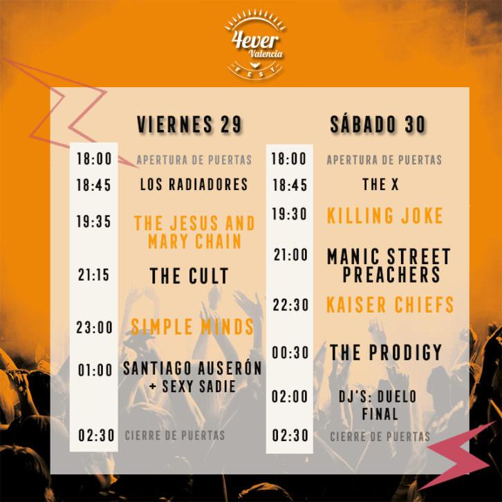 4ever Valencia Fest. Makma