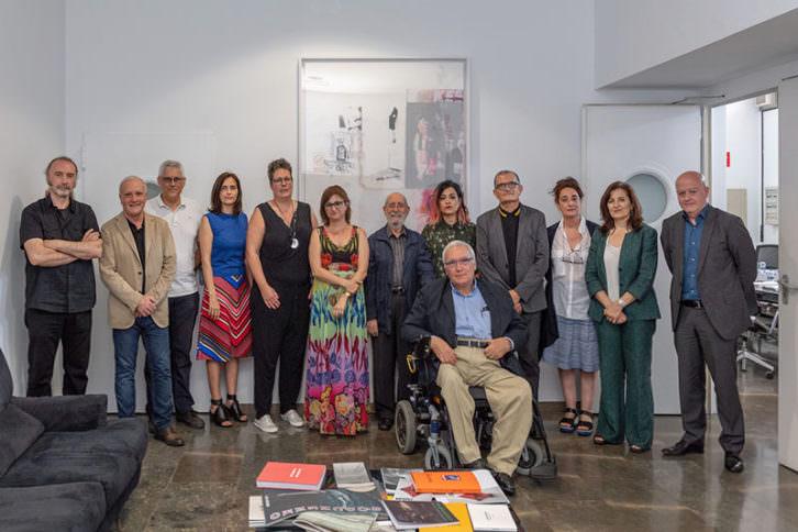 El nuevo Consejo Rector del IVAM. Imagen cortesía del museo valenciano.
