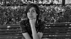 Imagen de portada, Catalina Carrasco en un momento de la entrevista. Fotografía. Cristina Tro.