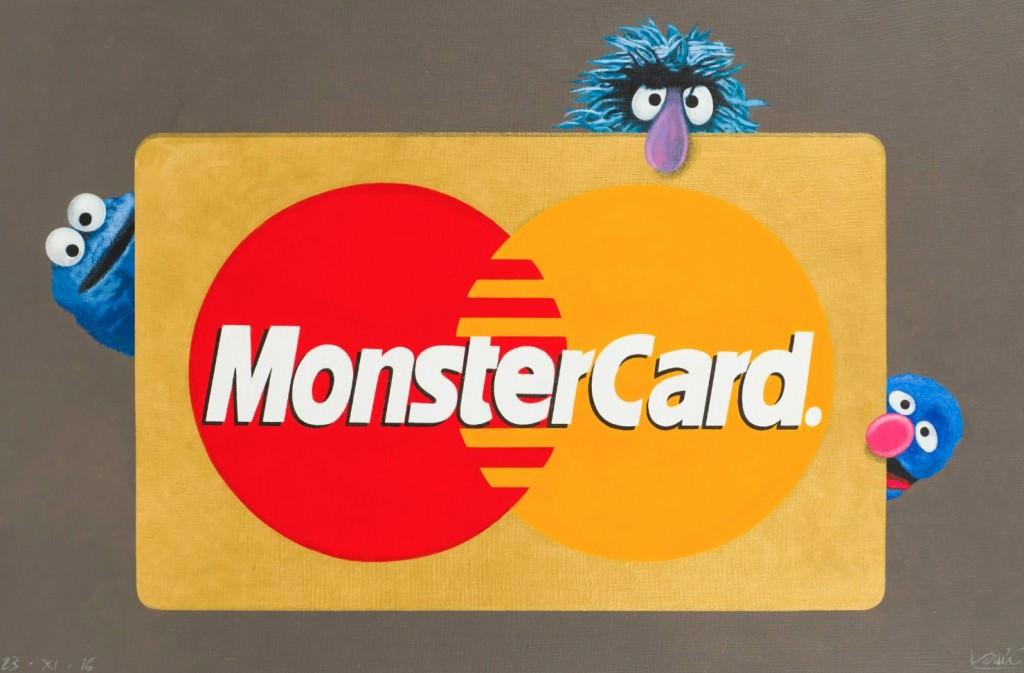 MonsterCard, obra de Joan Verdú. Imagen cortesía de La Nau.
