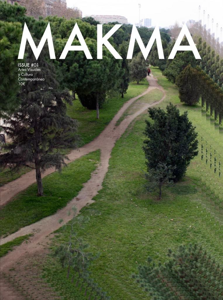 Portada de la edición especial de MAKMA en papel