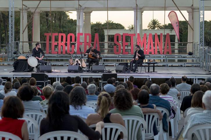 Trío Petrakis en el Festival Tercera Setmana. Imagen cortesía de la organización.