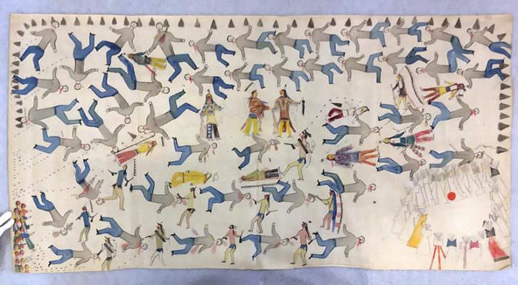 Beyond Hollywood: Identidades Indígenas Norte-Americanas. Imagen cortesía del Museu Valencià d'Etnologia.