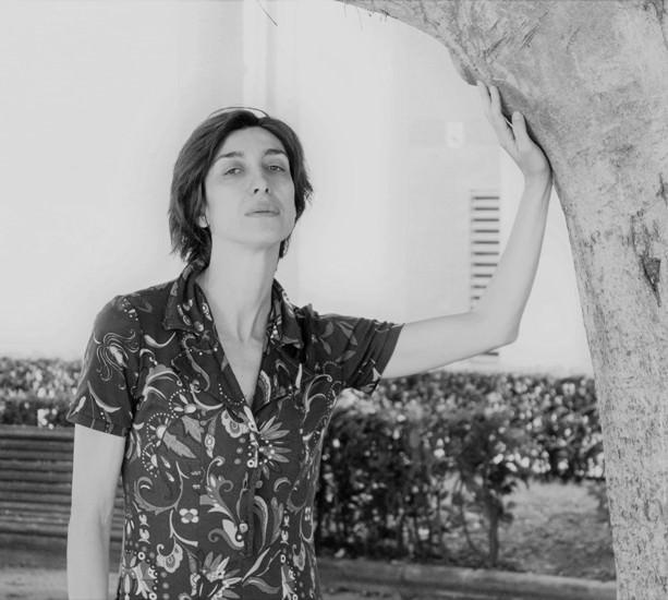 Catalina Carrasco en un momento de la entrevista. Fotografía, Cristina Tro.