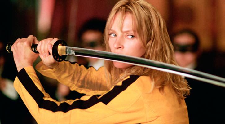 Fotograma de 'Kill Bill', película de Quentin Tarantino en torno a la venganza.