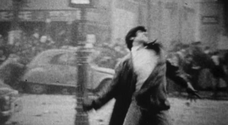 Imagen de una de las escenas que integran 'No intenso agora', de Joao Moreira Salles, ganadora del Premio de la Crítica de la Asociación de la Crítica y la Escritura Cinematográfica de Catalunya (ACCEC) en el VII Atlàntida Film Fest. Fotografía cortesía del festival.