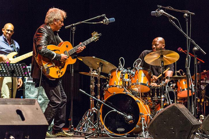 Ximo Tebar y Nathaniel Townsley en concierto. Imagen cortesía del Palau.