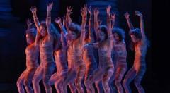 Un instante de la representación de 'Las amazonas', de Magüi Mira. Fotografía cortesía de Sagunt a Escena.