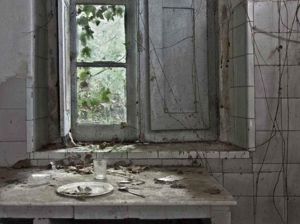 Imagen perteneciente a la serie realizada en el Bajo Miño, incluida en la exposición 'Huellas/Traces', de Pilar Pequeño. Fotografía cortesía de la artista.