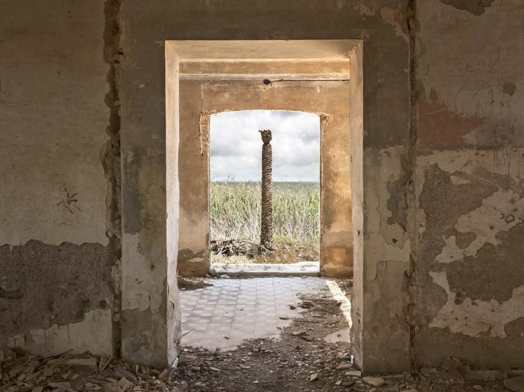 Imagen perteneciente a la serie realizada en el Mar Menor, incluida en la exposición 'Huellas/Traces', de Pilar Pequeño. Fotografía cortesía de la artista.