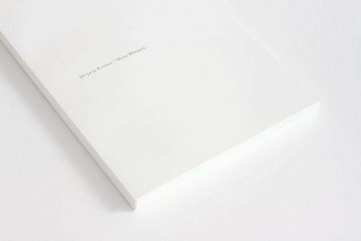 Detalle de la obra D759 in B minor de Manu Blázquez ganadora del premio DKV Seguros / MAKMA