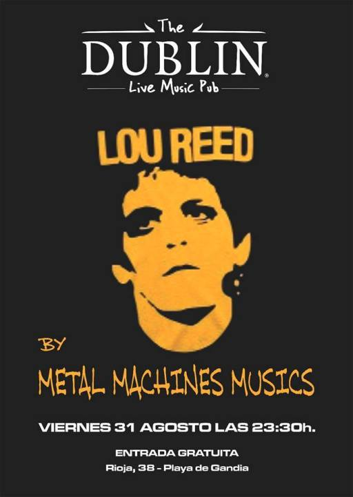 cartel metal machine musics lou reed