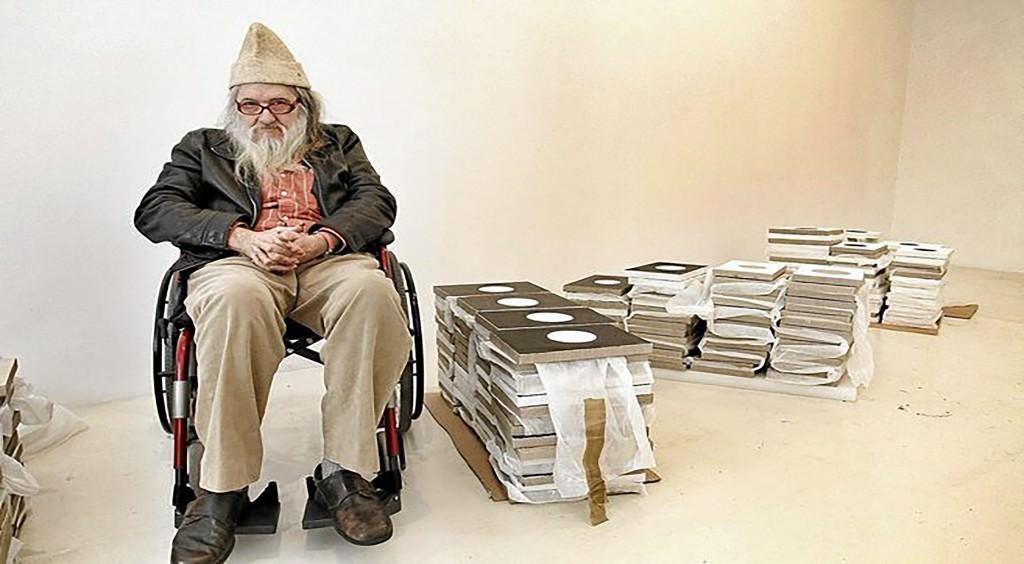 El artista Miguel Ángel Campano.Fotografía de Jordí Avellá.