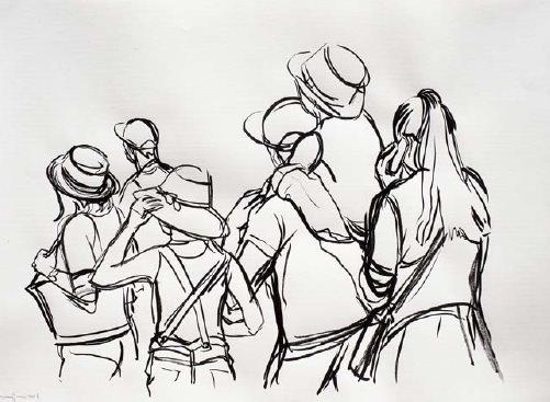 Luis Lonjedo en Galería 9. Imagen cortesía de LaVAC.