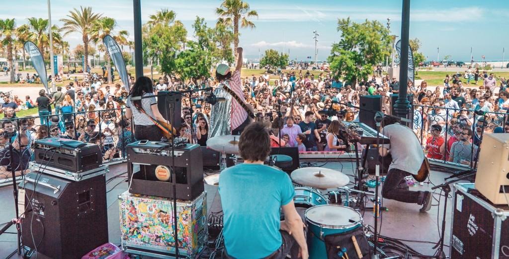 Uno de los conciertos de La Marina. Imagen cortesía de la organización.