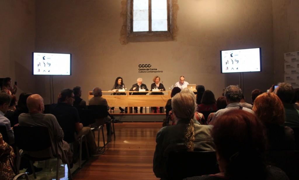 Acto de presentación de Mostra Viva del Mediterrani en el Centre del Carme. Imagen cortesía de la organización.