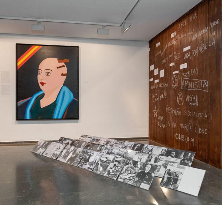 Vista de la exposición 'España. Vanguardias artísticas y realidad social. 1936-1976'- Imagen cortesía del IVAM.