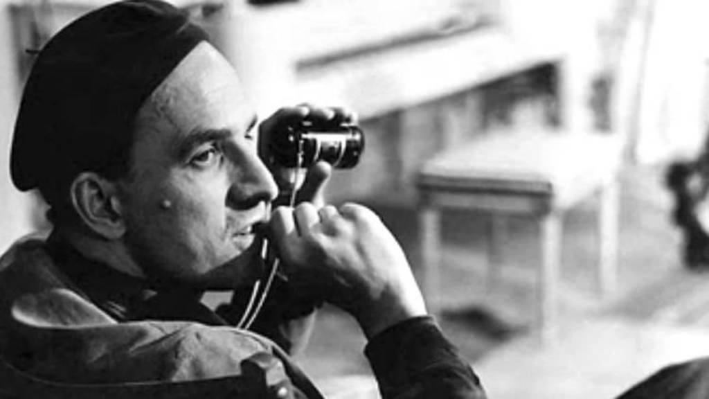 Ingmar Bergman. Imagen cortesía de la Filmoteca de Valencia.
