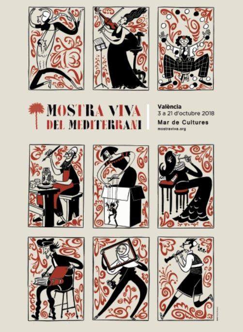 Cartel de la VI edición de Mostra Viva, por cortesía de la organización.