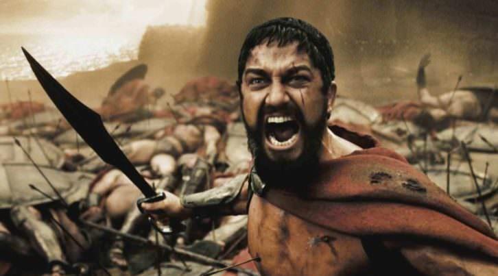 Fotograma de '300', de Zack Snyder.