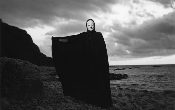 El séptimo sello, de Ingmar Bergman. Imagen cortesía de La Filmoteca de Valencia.