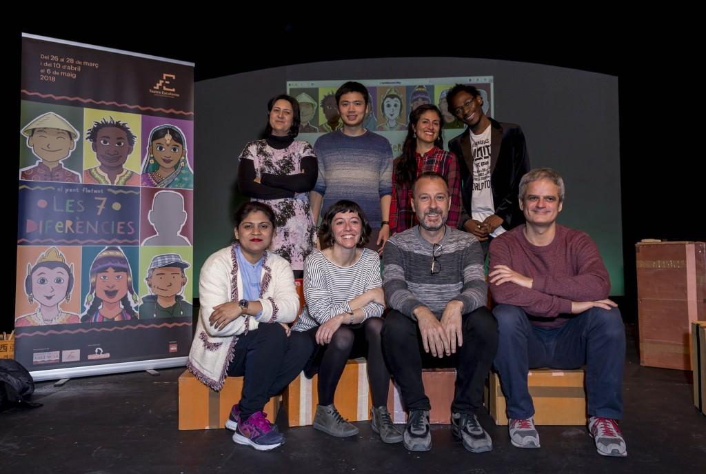 Responsables de la producción 'Les 7 Diferencies'. Imagen cortesía de la Diputación de Valencia.