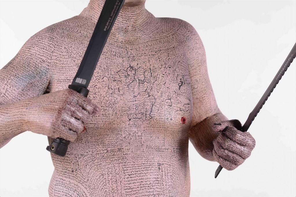 Imagen de la obra 'Soft Cockney', de Enrique Marty, artista invitado de la presente edición. Fotografía cortesía de MARTE.