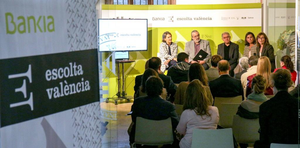 Bankia Escolta Valencia durante su presentación en La Nau. Imagen cortesía del IVC.