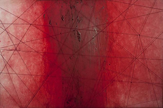 Imagen: cortesía de la galería Alba Cabrero. 'Grafías del dolor', selección de Miedos Cruzados