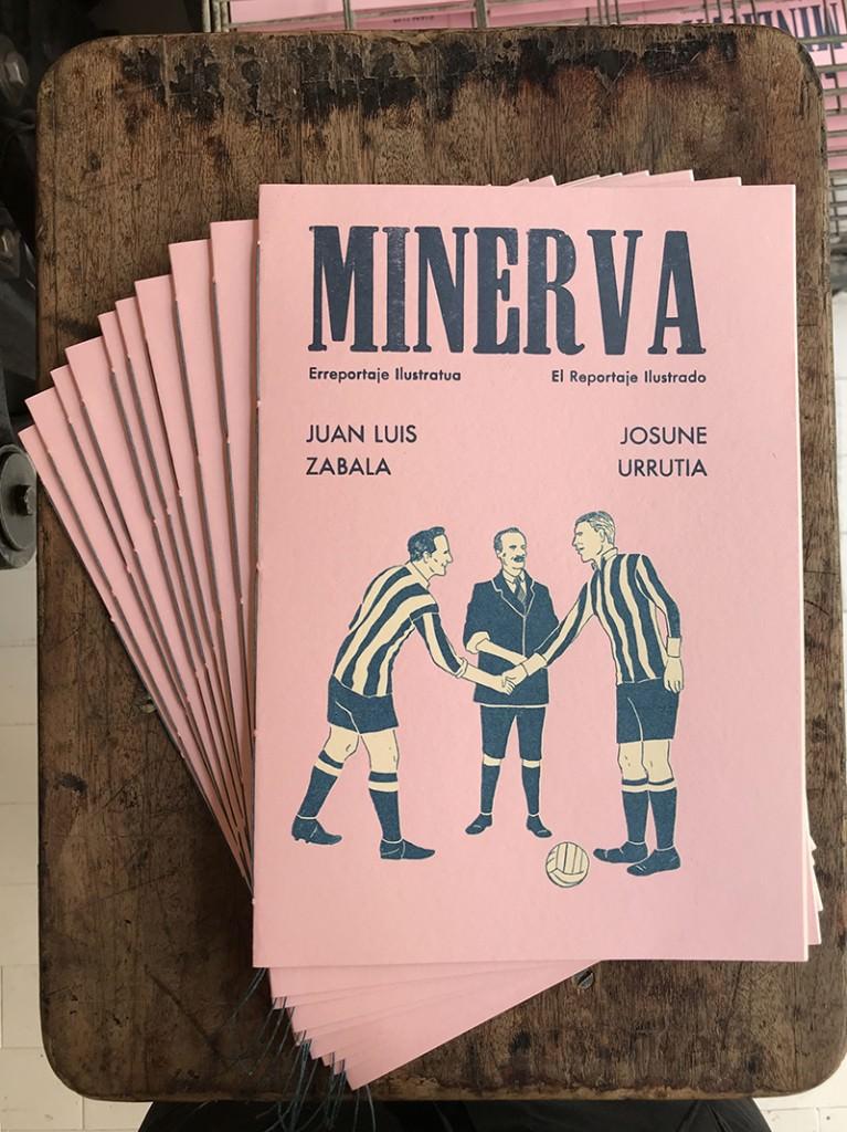 Portada del segundo número de la revista Minerva. Imagen cortesía de las responsables de la publicación.