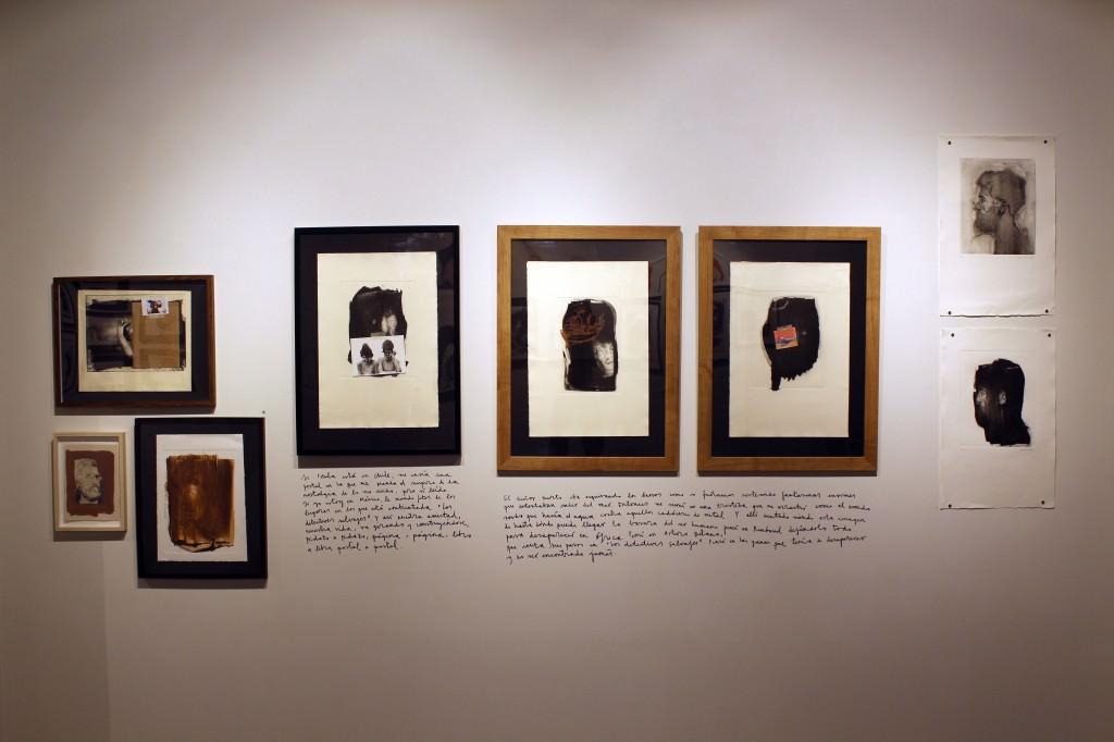Detalle obras exposición 'Por el olvido'. Fotografía: Cristina Tro Pacheco.