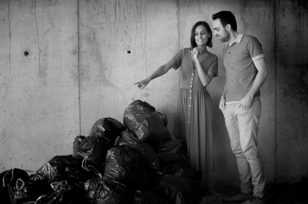 Helena Font y Pablo Díaz del Río en 'Al anochecer'. Imagen cortesía de Rambleta.