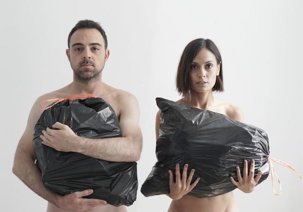 Pablo Díaz del Río y Helena Font en 'Al anochecer'. Imagen cortesía de Rambleta.