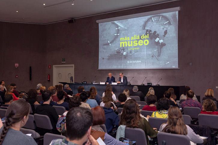 Vista del Congreso 'Más allá del museo'. Imagen cortesía del IVAM.