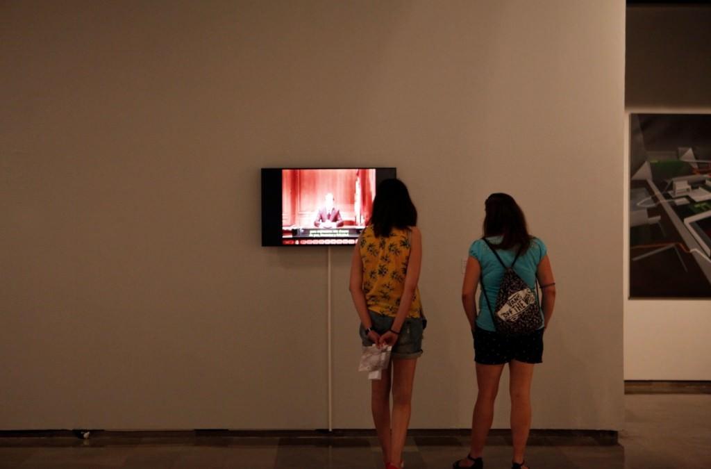 Vista de la exposición del Premio mardel. Imagen cortesía del Centre del Carme.