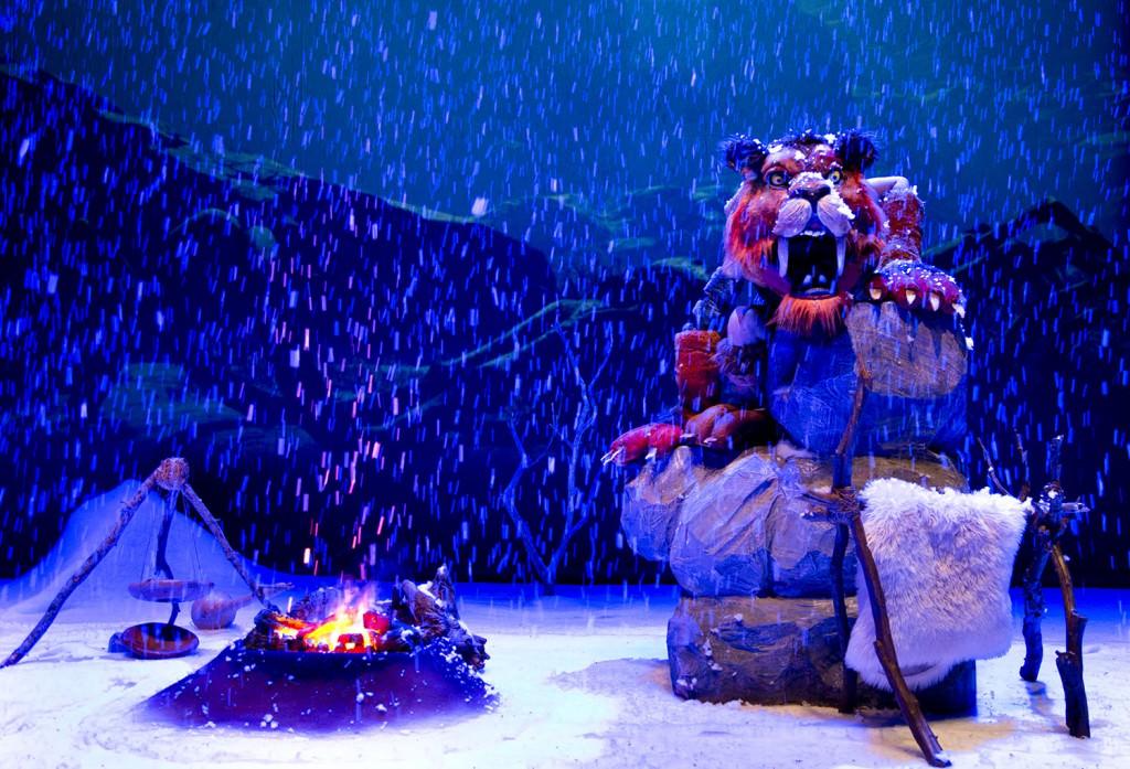 La caverna del fuego. Imagen cortesía de Sala Russafa.
