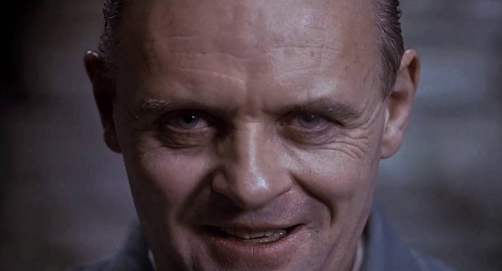 Anthony Hopkins en 'El silencio de los corderos'.