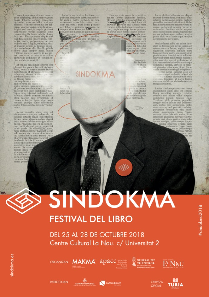 Cartel del festival Sindokma.
