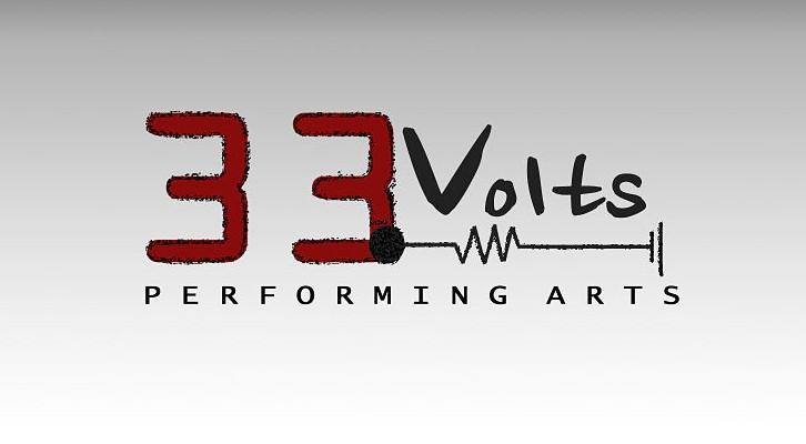 Logotipo del grupo de danza 33 Volts. Imagen cortesía de Edwin Valentín